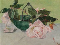 still life with roses by fritz reiner