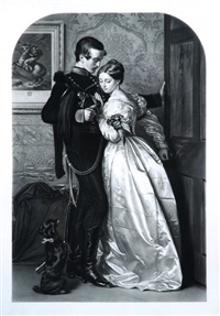 the black brunswicker (after sir john everett millais) by thomas atkinson