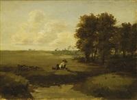 pastuszek na łące by karol miller
