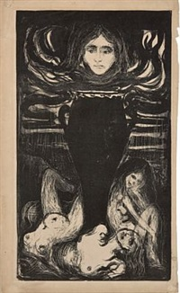 urnen / the urn by edvard munch