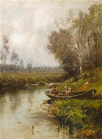 a canoe outing by edward b. gay