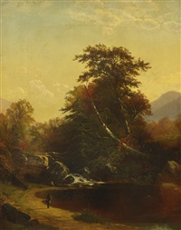 catskill clove by alfred thompson bricher