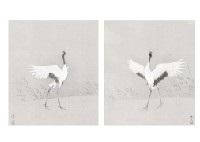 crane (pair) by atsushi uemura
