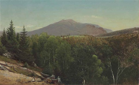 mount lafayette new hampshire by david johnson