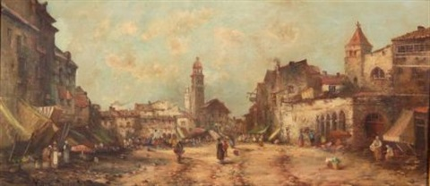 the market begins to stir by jules henri veron fare