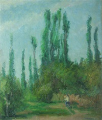 the poplars of colentina by hrandt avachian