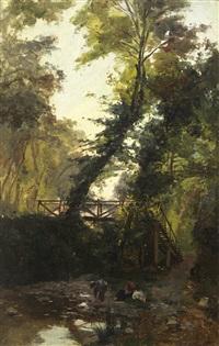 ponte de são bento - sintra (monserrate) by alfredo keil