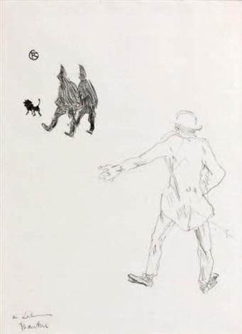 variante pour la couverture du fardeau de la liberté by henri de toulouse lautrec