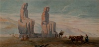 les colosses de memnon by john w. perrin