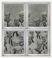 sailors (in 4 parts) by richard artschwager