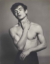 rudolf nureyev by richard avedon