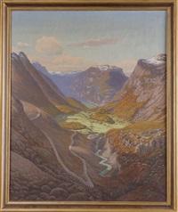 paysage de montagne by henrik rasmussen