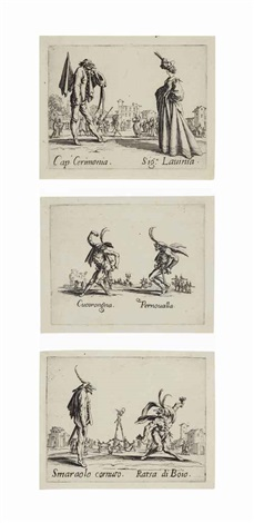 balli di sfessania set of 23 by jacques callot