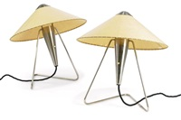 table lamps (pair) by josef hurka