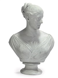 bust of a lady by edward hodges baily