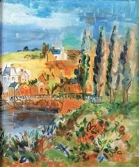 landscape by jean dufy