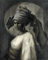 young woman from yoruba by herman bailey