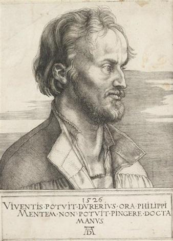 philip melanchthon by albrecht dürer