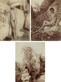 selected images (3 works) by baron wilhelm von gloeden