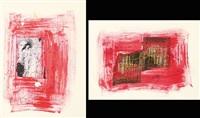 il denaro del diavolo e senza titolo (2 works) by alex caminiti