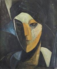 portrait of a lady by jean crotti