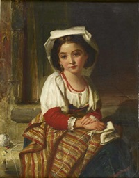 the young seamstress by robert herdman