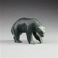 polar bear by bill nasogaluak