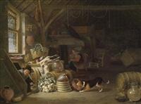 l'interieur d'une taverne by dirck wyntrack