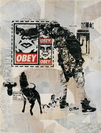 obey wk flyer by shepard fairey