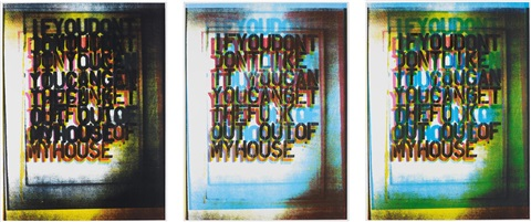 my house i ii and iii the complete series of three by christopher wool