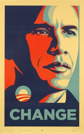 change by shepard fairey