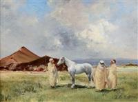 le campement de bédouins by victor pierre huguet