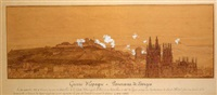 vista de la ciudad de burgos by eugène courboin