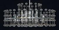 große deckenlampe by aloys ferdinand gangkofner