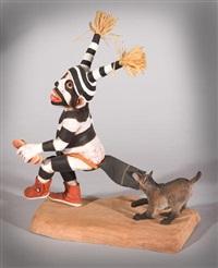 clown dogging by neil david