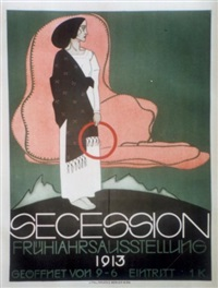 frühjahraussterrung der secession by franz wacik