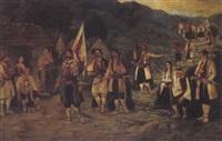 heimkehrende montegriner by friedrich ziegler