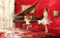 the piano player by lorna miller