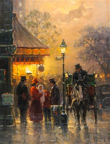A Family Outing By Gerald Harvey Jones On Artnet
