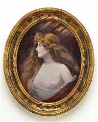 jugend. kvinnlig modell by camille fauré