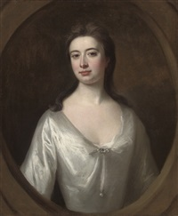 portrait of a lady (mary campbell of mamore, née bellenden?) by william aikman