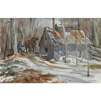 sugar camp by henry john simpkins