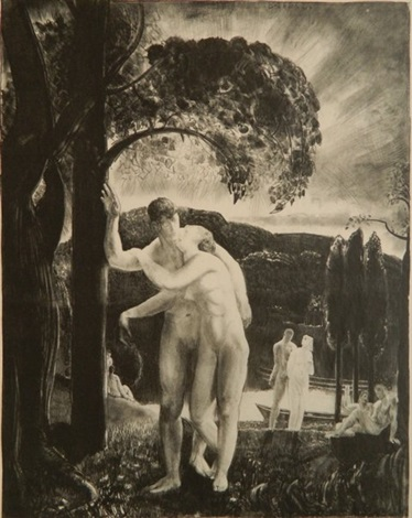 amour by george wesley bellows