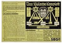 das judische komplott by posters: propaganda