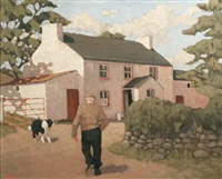 farmhouse in county donegal by norman smyth