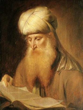 a rabbi reading by simon kick