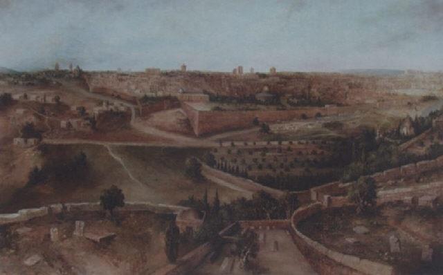 vue panoramique de jérusalem by d henry