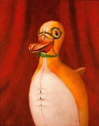 porträtt av pingvin by gunnar loberg
