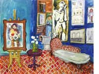 l'atelier bleu by carlos nadal