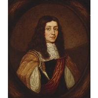 portrait of a gentleman thought to be henry howard, 6th duke of norfolk (1628-1683/84) and earl of surrey by william dobson